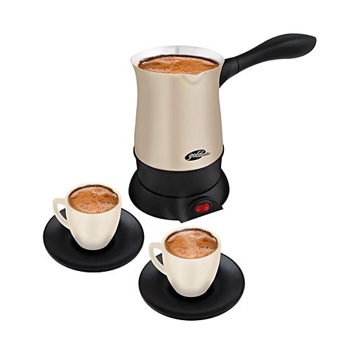 Goldmaster Gm-7381 Pleasant Chat Coffee Set Rose Gold