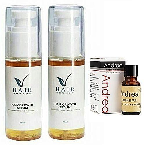 Hair Growth Serum X2 + FreeGift (Andrea Oil)