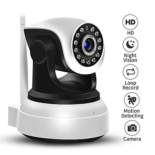 IP Camera, IeGeek 720P HD Wifi Wireless CCTV Home Security System Network Ip Cam For Remote Phone/ Tablet View Control, Easy Setting Up, Motion Detect Alert, Two-Way Audio, Support 64GB Micro SD Card