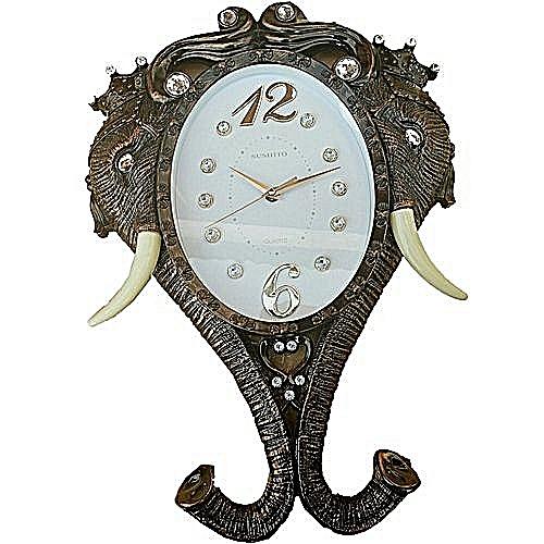 Classic Elephant Wall Clock