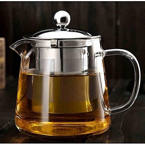 Hot Selling Drinkware 600ml Teapot Glass Tea Pot High Quality Tea Set