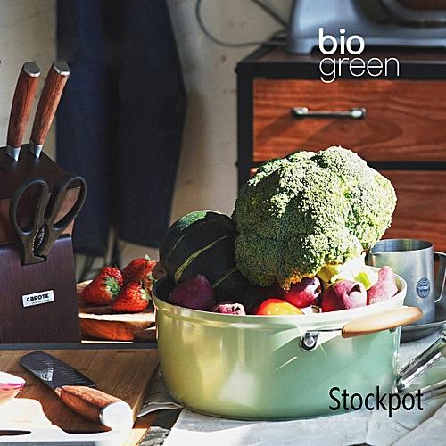 Soup Pot Induction Cooker Pot Stew Boil Pot Non-stick Pot Thickened Pan 20CM Diameter