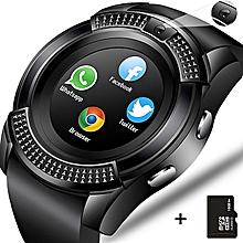 1c38b81f305 Bluetooth Touch Screen Wrist Watch With Camera SIM Card Slot Smart Watch