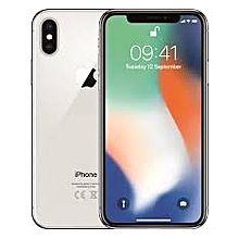 Iphone X 256 Gb Slive With Free Tampered Glass