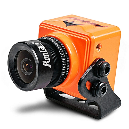 Swift Mini 600TVL Aerial Camera CCD Sensor / 5 - 36V Ultra Wide Voltage Input - Orange