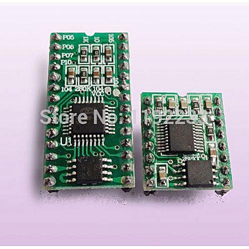 5pcs/lot WT588D Series Voice Module Voice Chip 16P-8M Memory