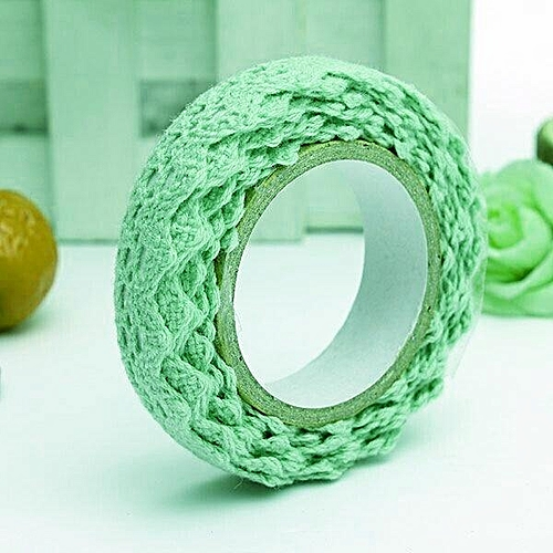 Lace Cotton Washi Tape 15mm X 1.7 M Roll Decorative Sticky Masking Adhesive