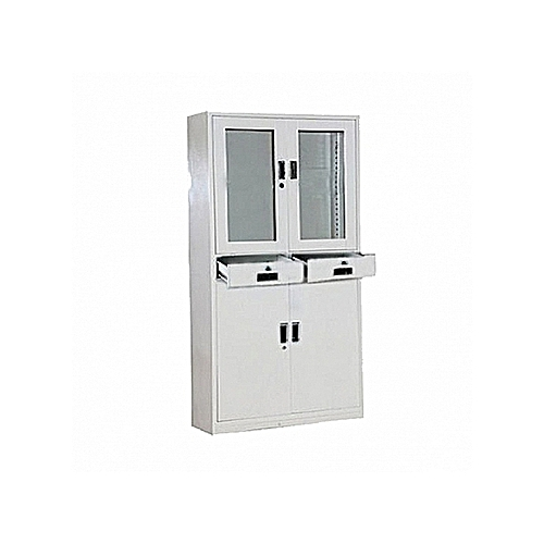 Metal Glass Filing Cabinet (Delivery In Lagos And Environs, Ibadan And Port-Harcourt Only)