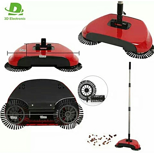 Magic Sweeper Automatic Spinning Broom Cordless No Batteries Required