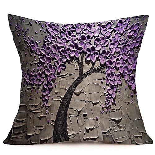3D Pillow Case 43*43cm Multicolor