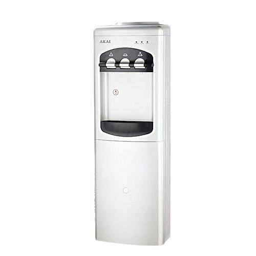 AKAI 3 Taps Water Dispenser With In-Built Fridge